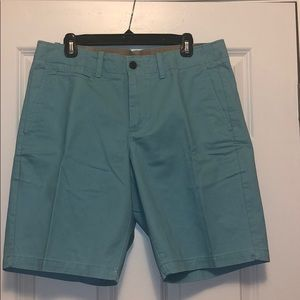 Men's Gap teal cotton shorts. 34 waist. NWOT.